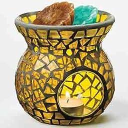 Mosaic Tart Burner - Amber