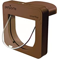 Petporte Smart Cat Flap Microchip, Brown