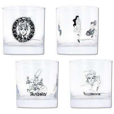 一番くじ ジョジョの奇妙な冒険 第四部 ダイヤモンドは砕けない 【G賞】 グラス 全4種セット