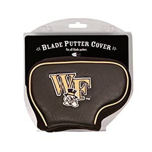 Wake Forest Demon Deacons Golf Blade Putter Cover (Set of 2) by Team Golf