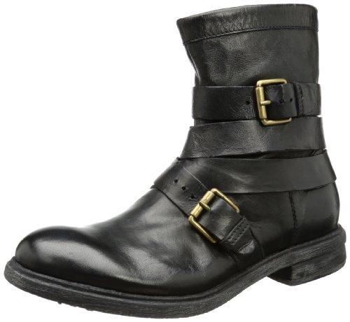 Mjus 320201 Boots Men's Black Schwarz (nero 6002) Size: 6.5 (40 EU)