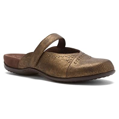 Orthaheel Women's Airlie Studded Mule Bronze Size 5