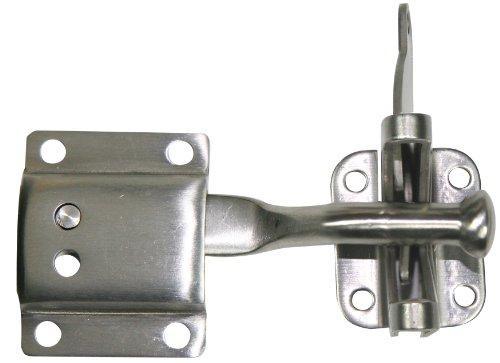 Ultra Hardware 35941 Auto Adjust Gate Latch, Stainless Steel