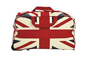 Large Lightweight Union Jack Wheeled Holdall