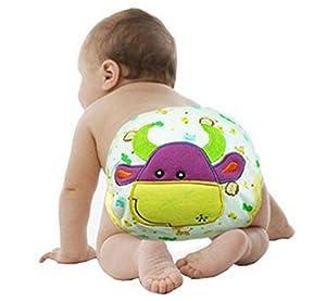 LinTimes unisexo bebé animal pañal, grande, toro - BebeHogar.com