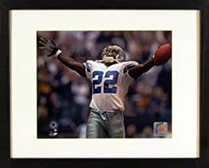 Emmitt Smith Framed 11x14 Photograph (SGA UnderFifty Series) by Sports Gallery Authenticated