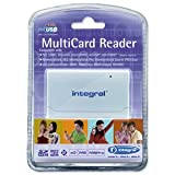 Integral USB 2.0 MultiCard Reader: INCRMULTI (INCRMULTI)