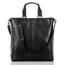 Lyle Tote<br>Black Tribeca
