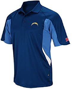 San Diego Chargers Mens Field Classic V Polo Shirt by VF by VF