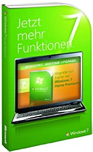 Windows 7 Anytime Upgrade - Starter auf Home Premium (Produktschlüssel)