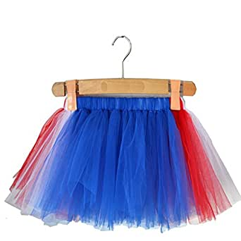 Liliany Amarica Flag Girl's Tutu Skirts