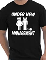 Under New Management Funny Stag Do Stag Night Wedding Mens T-Shirt Size S-XXL
