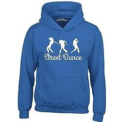 iClobber Street Dancing Hoodie for Girls Kids Beautiful Street Dancing Group Design