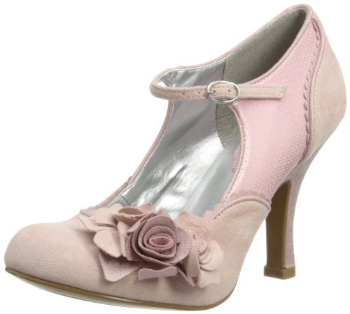 Ruby Shoo Womens Alice Court Shoes 08535 Dusky Pink 7 UK, 40 EU