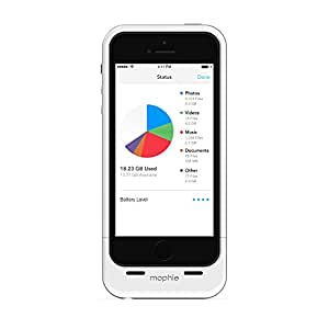 Mophie Space Pack iPhone 5 32GB, White