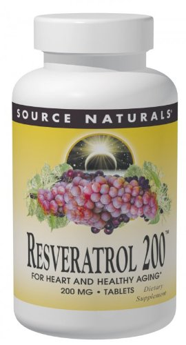 Source Naturals Resveratrol 200, For Heart and Healthy Aging (Natural Aging compare prices)
