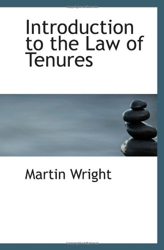 Introduction to the Law of Tenures