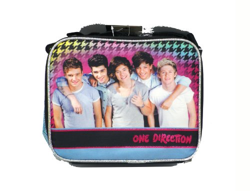 Lunch Bag - One Direction - Pink Guitar (One Direction Guitar Accessories compare prices)