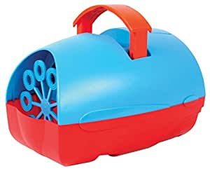 QTX Mini Bubble Machine. Portable, colourful and compact