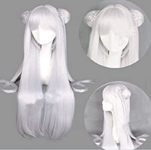 Topbill Anime Long Straight Online Cosplay Wigs