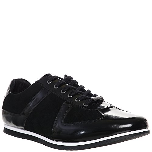 Versace Jeans, Sneaker uomo nero Black, nero (Black), 39 EU