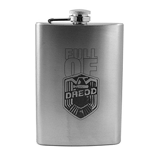 8oz Full of Dredd Flask L1