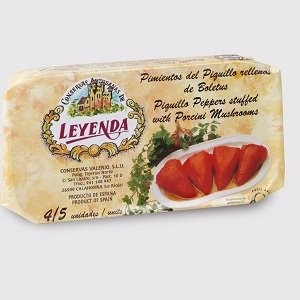 Leyenda-Piquillo Peppers with a Porcini mushroom stuffing 250g