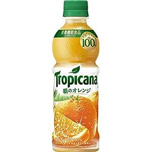 トロピカーナ 100% 朝のオレンジ PET (330ml×24本)
