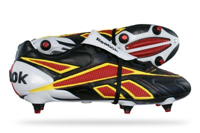 Reebok Valde Pro SG Mens Football Boots - Black - SIZE UK 6.5