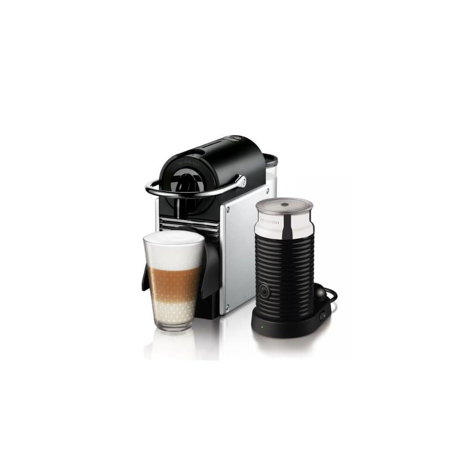 delonghi en 125 sae nespresso pixie electric aluminium mit aeroccino3 on popscreen. Black Bedroom Furniture Sets. Home Design Ideas