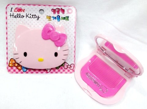 Hello-Kitty-Mirror-Compact-with-Comb
