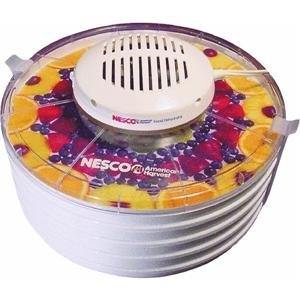 Best Inexpensive model: Nesco FD-37 400 Watt Food Dehydrator