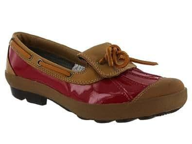 UGG Australia Women's Ashdale - Black Slip-on Shoes,Red/Fawn,5 US