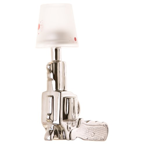 Chrome Revolver Tea Light Holder