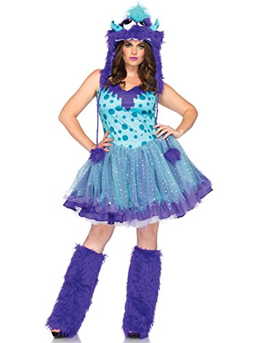 Polka Dotty Adult Plus Costume