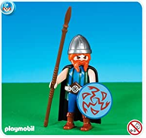 playmobil 7923 chef gaulois nouveaut 2014 emballage plastique pas de bo te. Black Bedroom Furniture Sets. Home Design Ideas