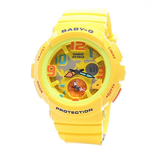 Casio Ladies Baby-G G-LIDE Analog-Digital Casual Quartz Watch (Asia Model) BGA-190-9B