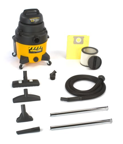 Shop-Vac 9252810 8-Gallon 6.5-Peak HP Industrial  Wet/Dry Vacuum (Shop Vac Quiet Series compare prices)