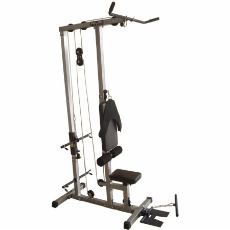 Valor Fitness Cb-12 Plate Loading Lat Pull Down front-454858