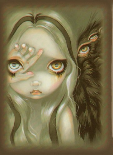 Artists of Magic Premium Deck Protectors: Divine Hand /Artwork by Jasmine Becket Griffith (Pack of 80 Sleeves)