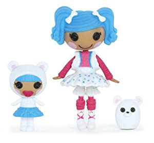 Lalaloopsy Mini Littles Doll, Mittens Fluff 'n Stuff/Bundles Snuggle Stuff