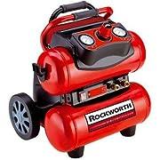 Rockworth RW1504ST2-AZ Factory Reconditioned Portable Electric Air Compressor 4-Gallon Black