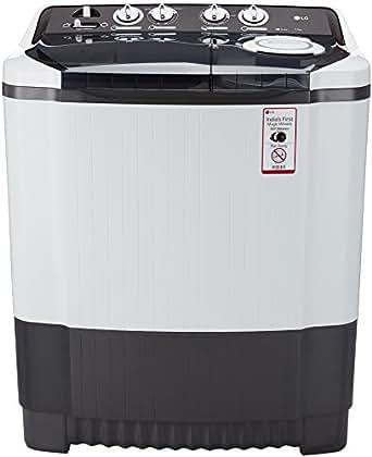 LG 7.5 kg Semi-Automatic Top Loading Washing Machine (P8539R3SM, Dark Grey)