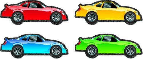 Carson Dellosa Race Cars Cut-Outs (120117)