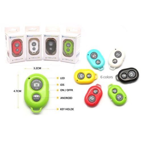Bluetooth スマートフォン用 カメラリモコン  AB Shutter 3 【Black】 ABS3-BLK-A