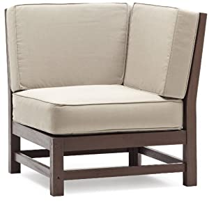 Perfect Strathwood Anderson Hardwood Sectional Corner Chair