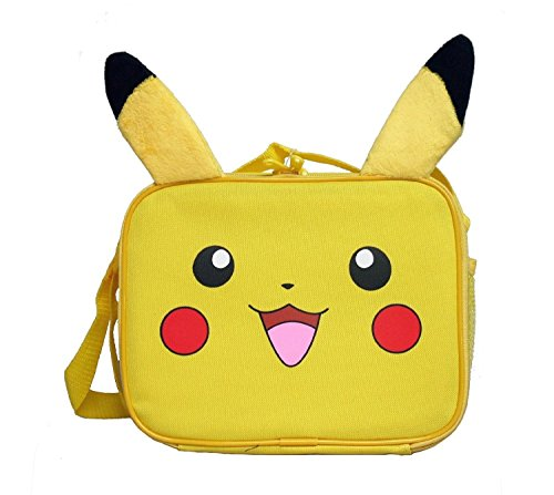Pokemon Nintendo Plush Pikachu Lunch Bag