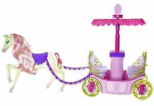 Mattel barbie w3895 carrozza e cavallo accessori per for Accessori per barbie