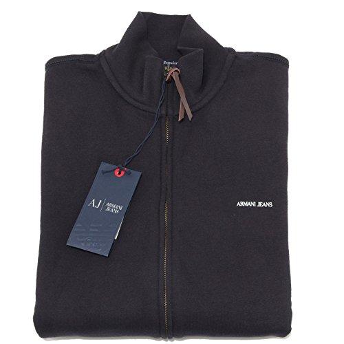 6072M felpa blu uomo ARMANI JEANS regular felpe men sweatshirts hoodies [M]