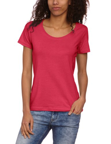 anvil Damen T-Shirt Regular Fit, 391, Gr. 46 (XXL), Pink (HPK-Hot Pink)